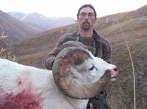 Tim with Harry sanford's massive 13 year old Ram
